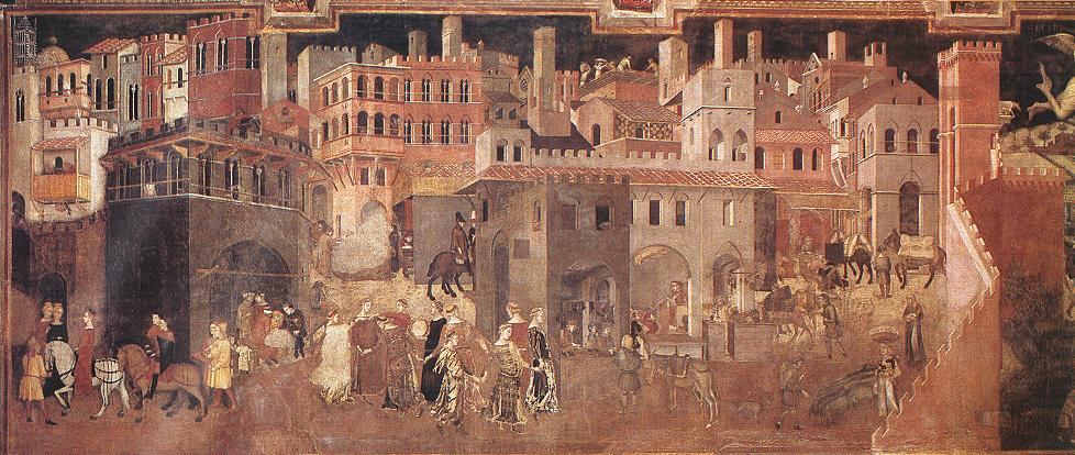 ambrogio_lorenzetti_-_effects_of_good_government_on_the_city_life_detail_-_wga13488